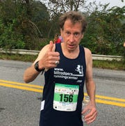 Legendary distance runner Bill Rodgers, winner of four Boston and New York City marathons, competed in the Dutchess County Classic's half marathon Sunday.