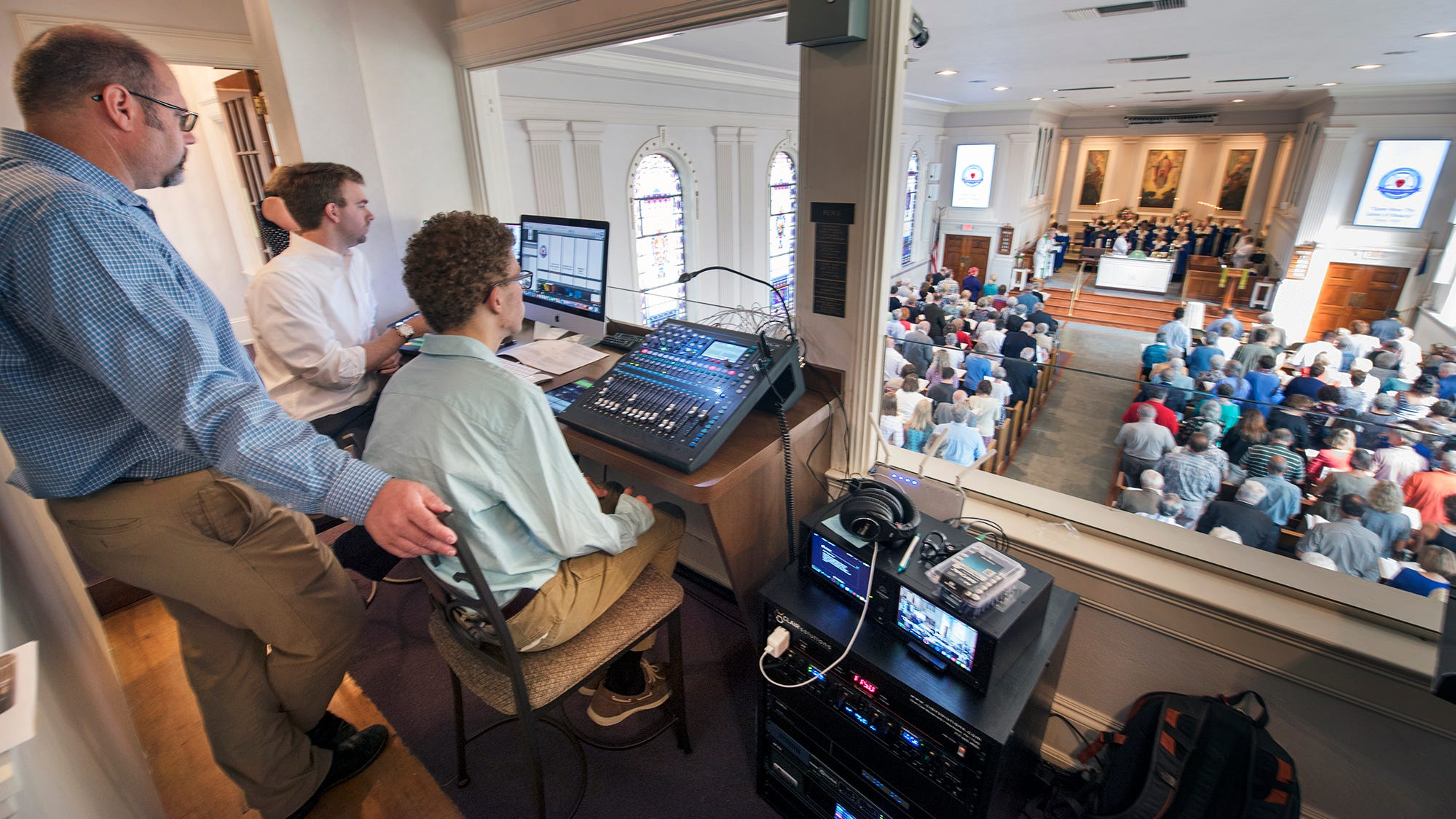 Tradition, tech blend at Advent Lutheran in Springettsbury Twp. with $3 million renovation