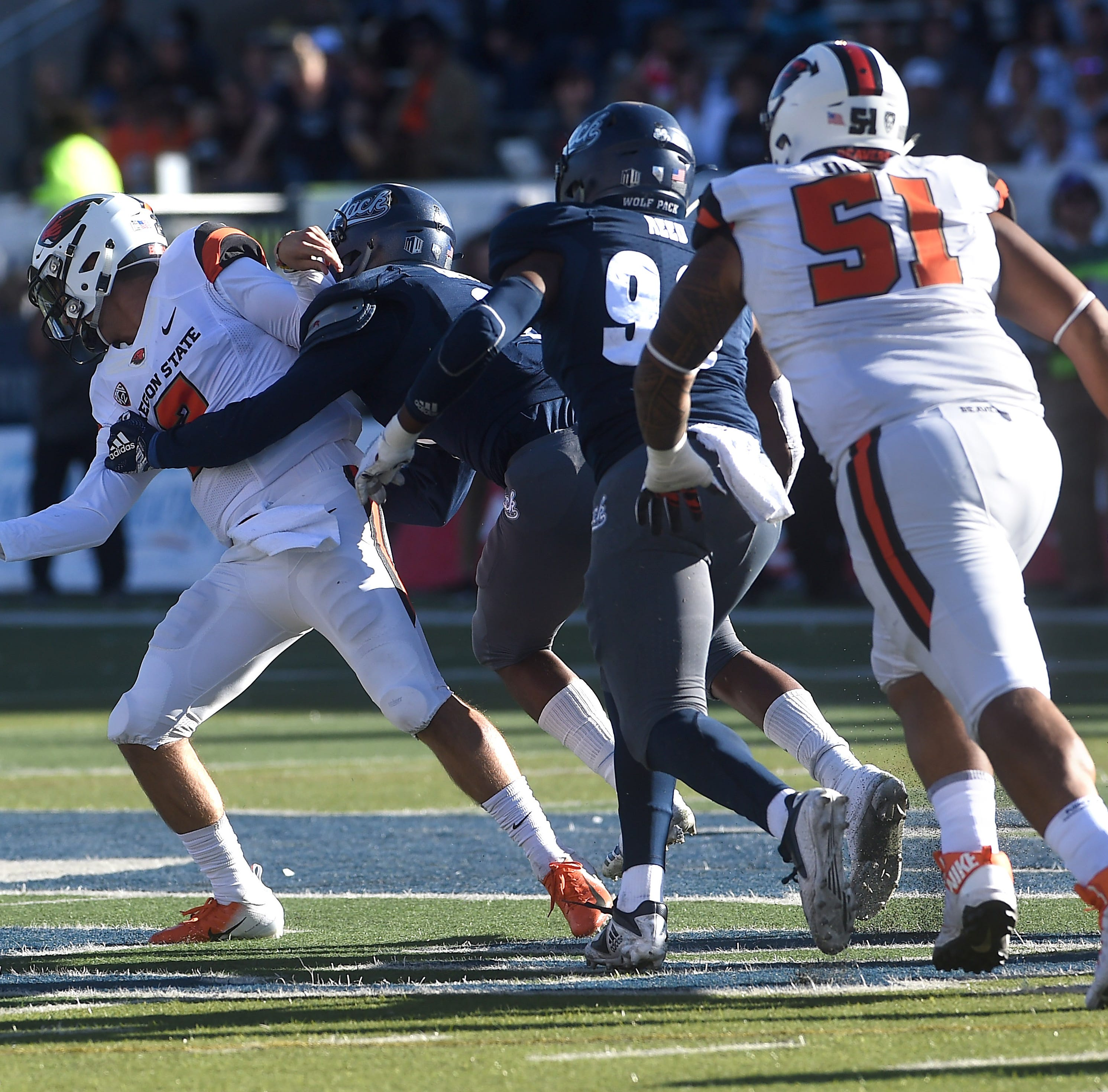 Oregon State at Nevada: Live Wolf Pack updates from Mackay Stadium