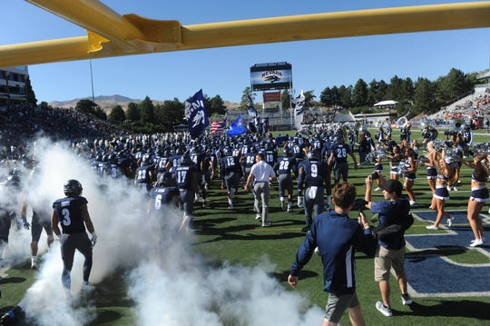 Nevada prepares to play Oregon State last Saturday at Mackay Stadium.