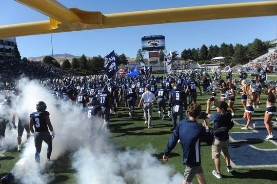 Nevada prepares to play Oregon State last Saturday at Mackay Stadium.