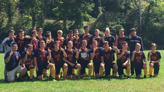 The Seton Catholic boys soccer team won its first PAAC title with a thrilling 3-2 victory over Greenwood Christian.