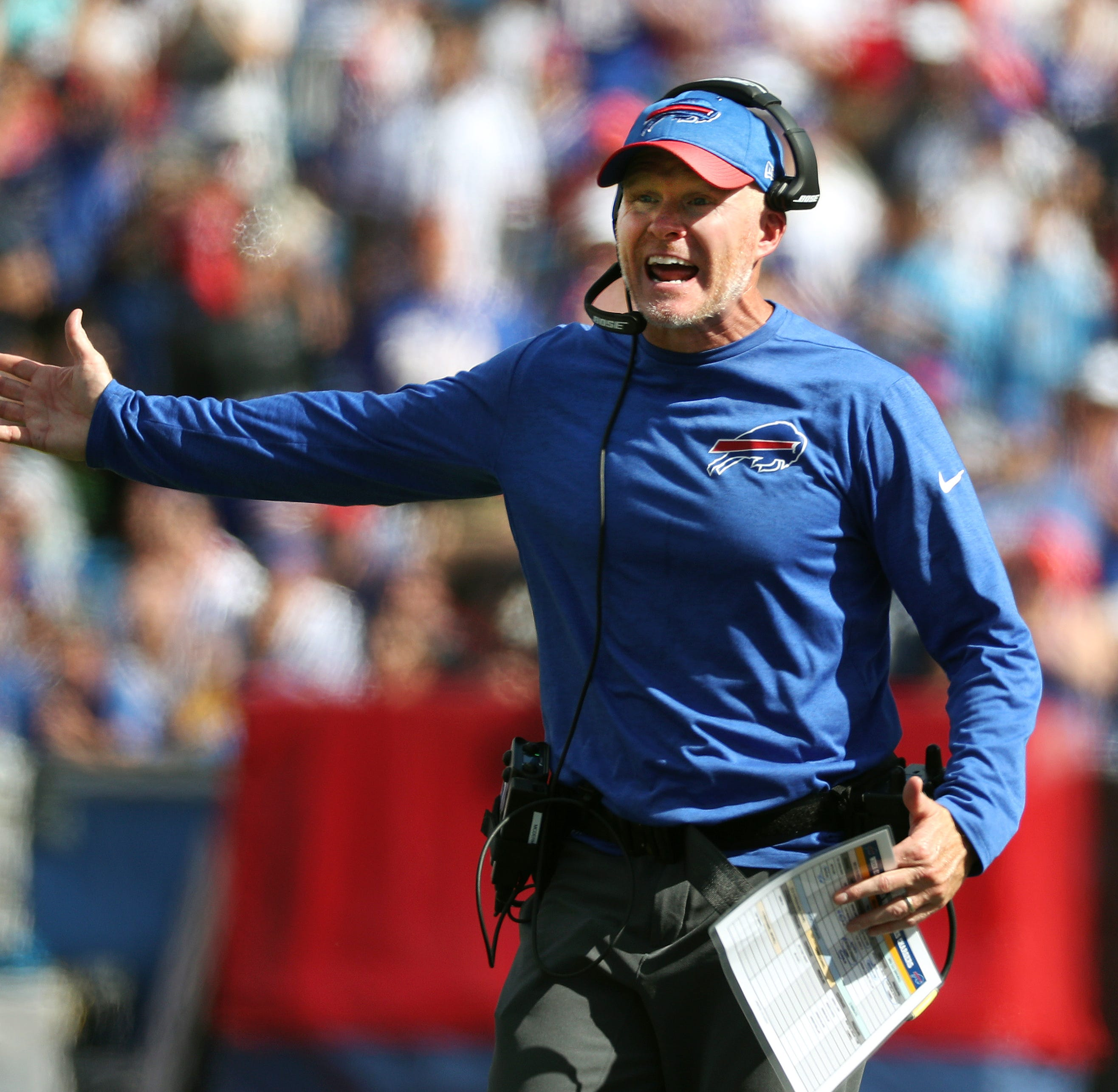 Buffalo Bills coach Sean McDermott: 'We're moving on' from Vontae Davis