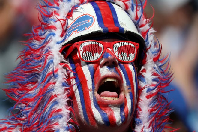 It's hard to watch, even through Bills colored glasses.