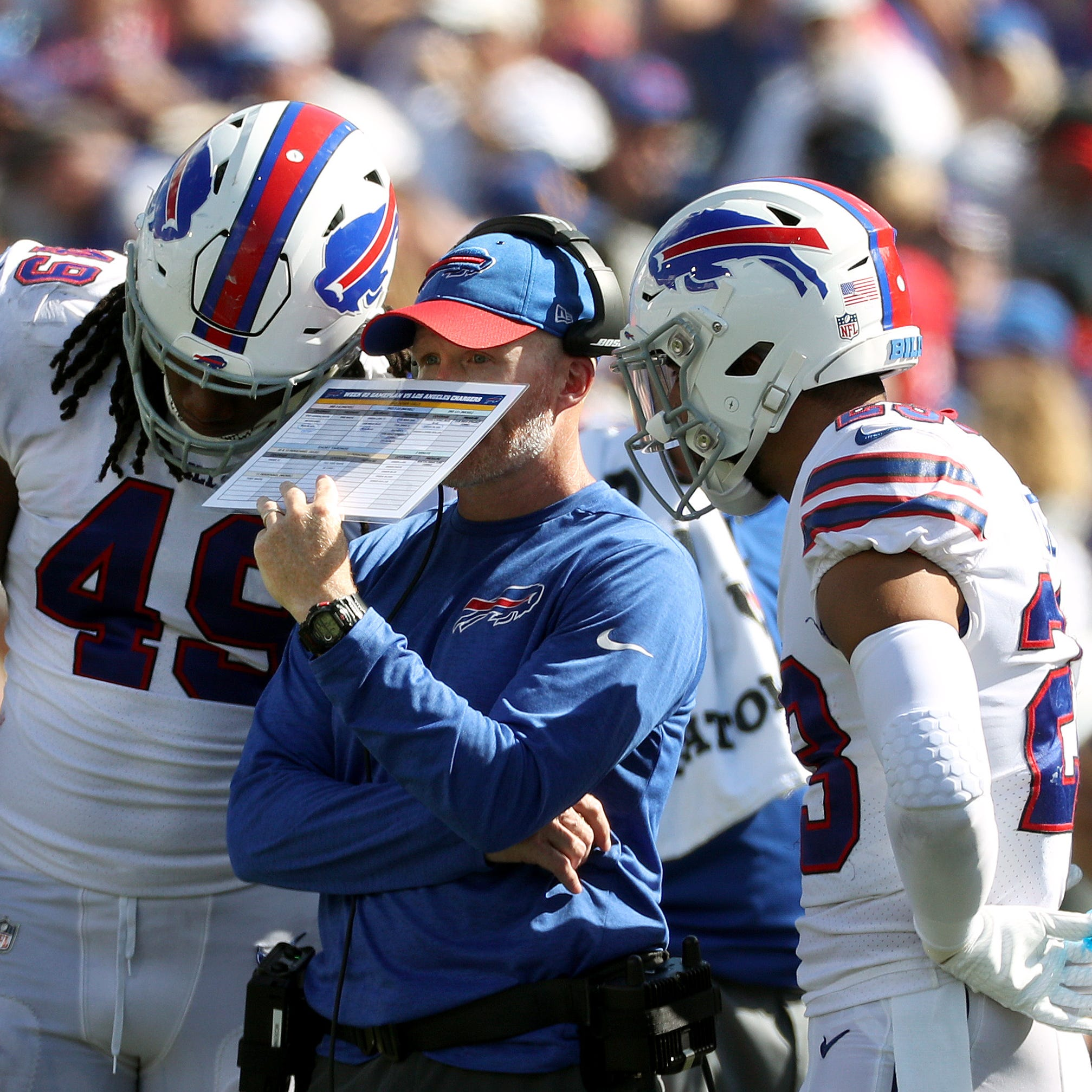 Roth: Bills coach Sean McDermott needs to let Leslie Frazier do his job