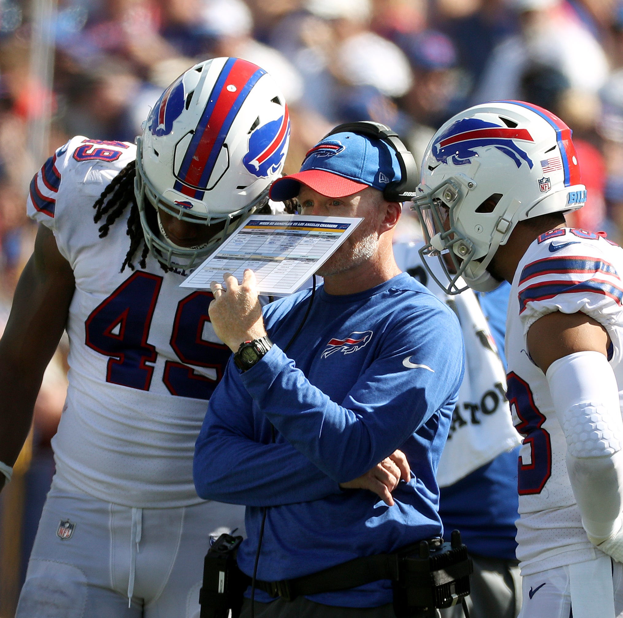 Winless, reeling Bills face daunting schedule with Vikings up next