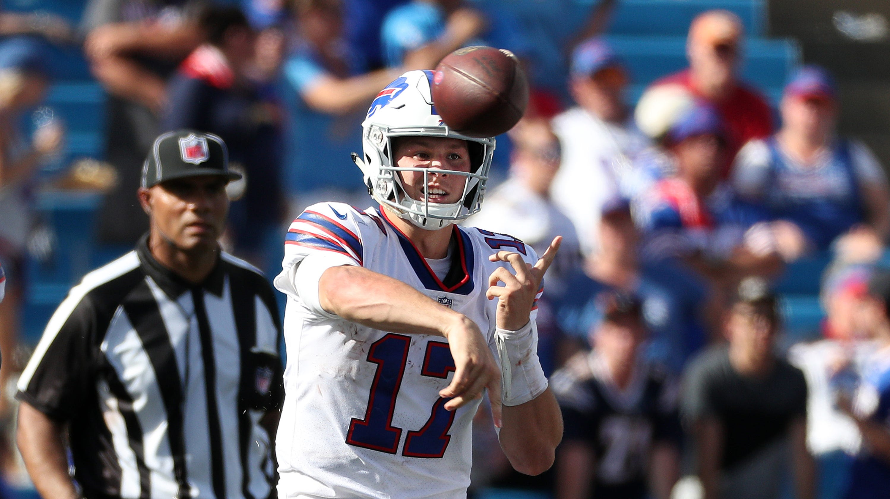 05c0ca7c749 Josh Allen starting debut ruined in Bills 31-20 loss to Chargers