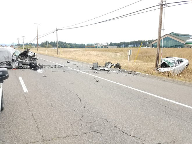 A head-on crash on Highway 18 near the Evergreen Air Museum claimed the lives of three people Saturday afternoon, including a 19-year-old Salem man.