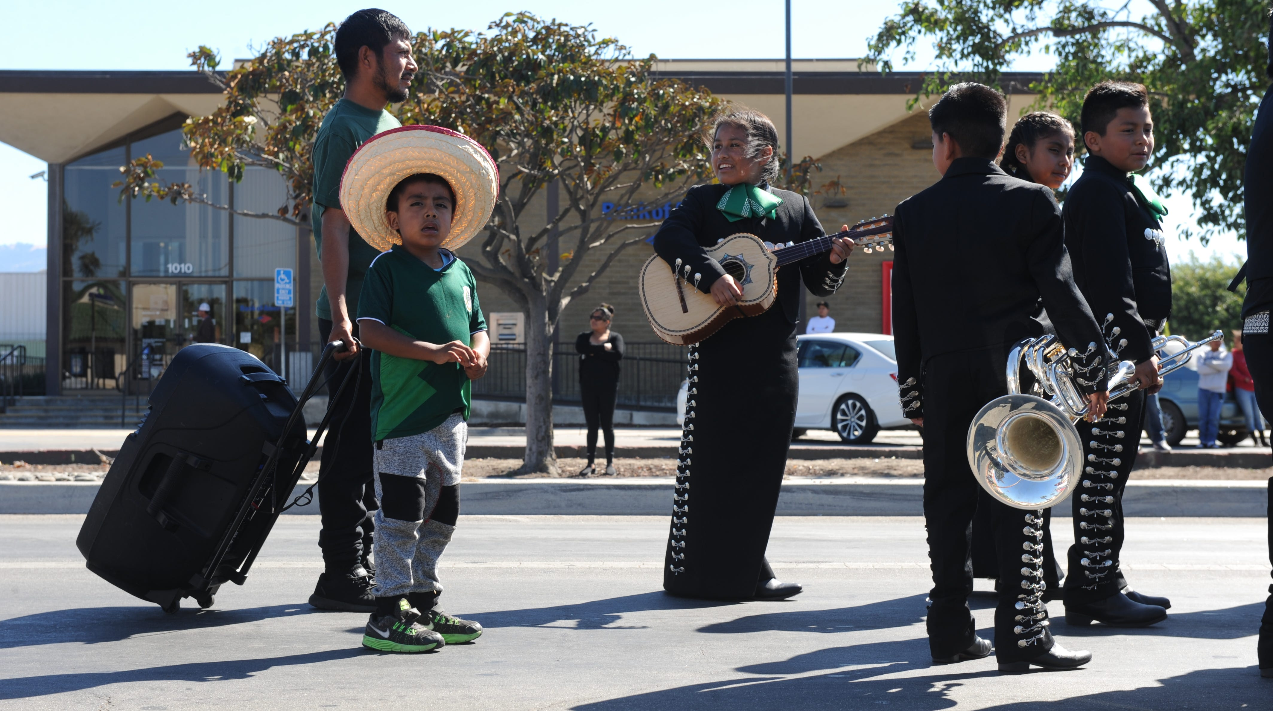 Salinas' El Grito parade took place in East Salinas where residents participated in the weekend-long festivities.