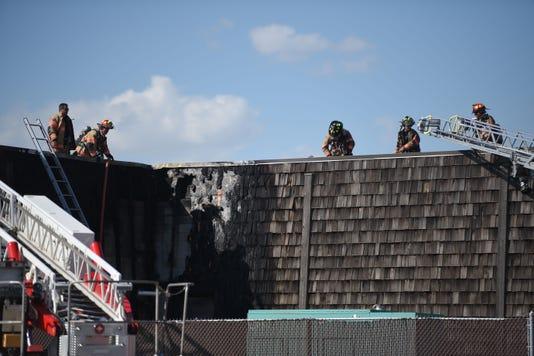 Photos Fire At County Correction Center Fire 013