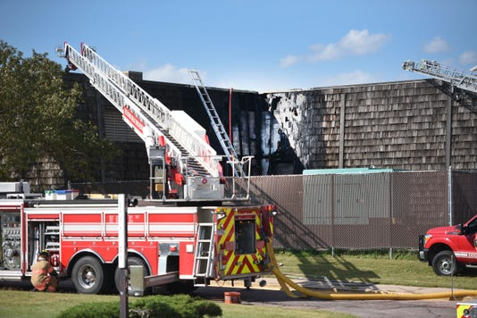 Photos Fire At County Correction Center Fire 004