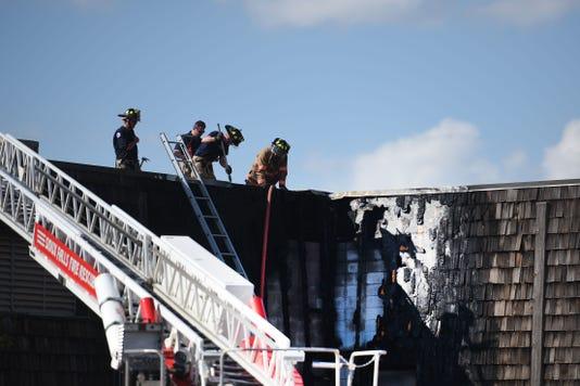 Photos Fire At County Correction Center Fire 002