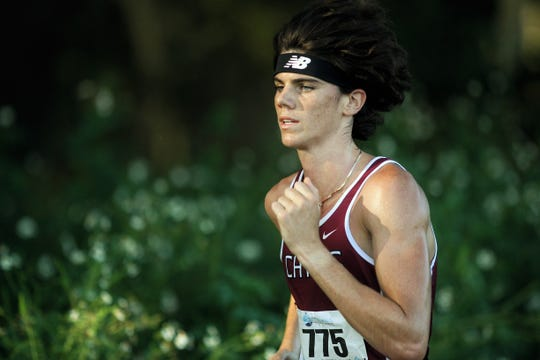 Chiles' Connor Phillips runs to a win at the Red Hills Invitational cross country meet at Elinor Klapp-Phipps Park.