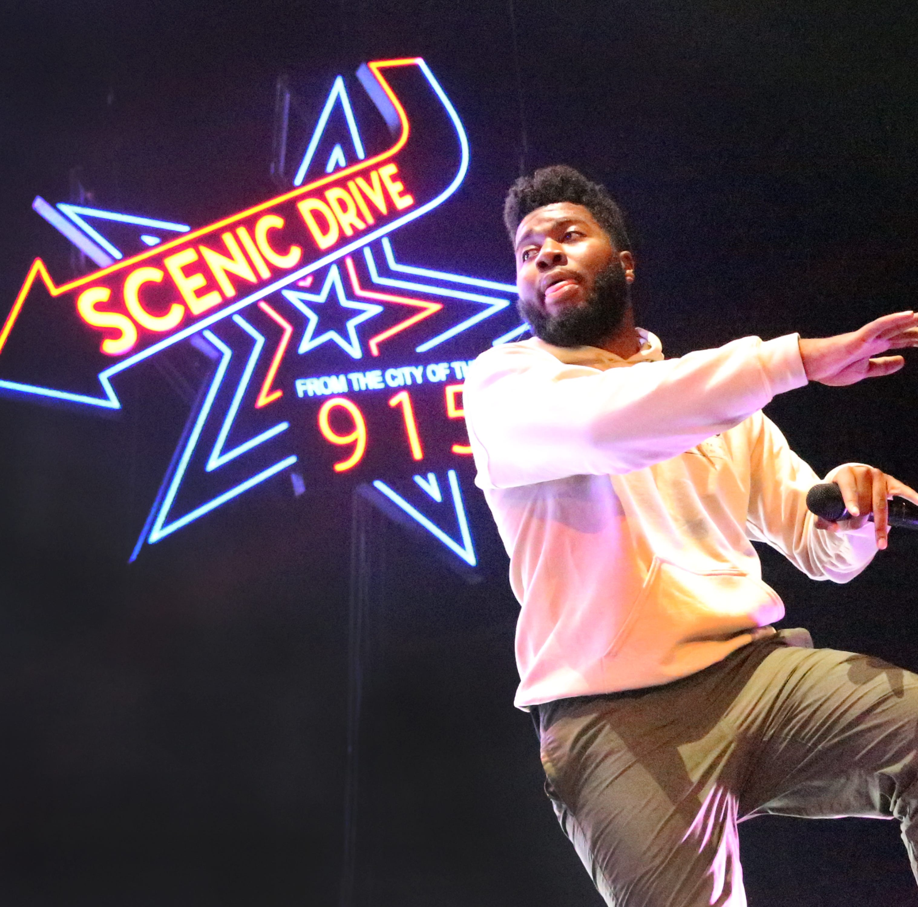 5 more highlights from Khalid's second sold out show at the Don Haskins Center in El Paso