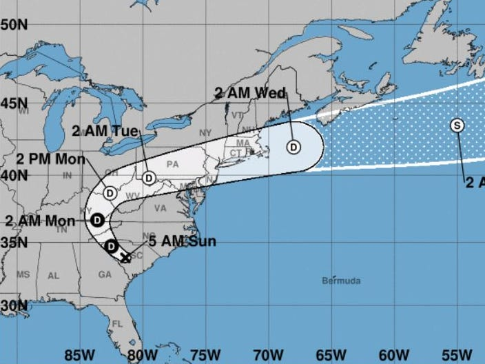 Remnants of Hurricane Florence to hit Delaware Monday and Tuesday