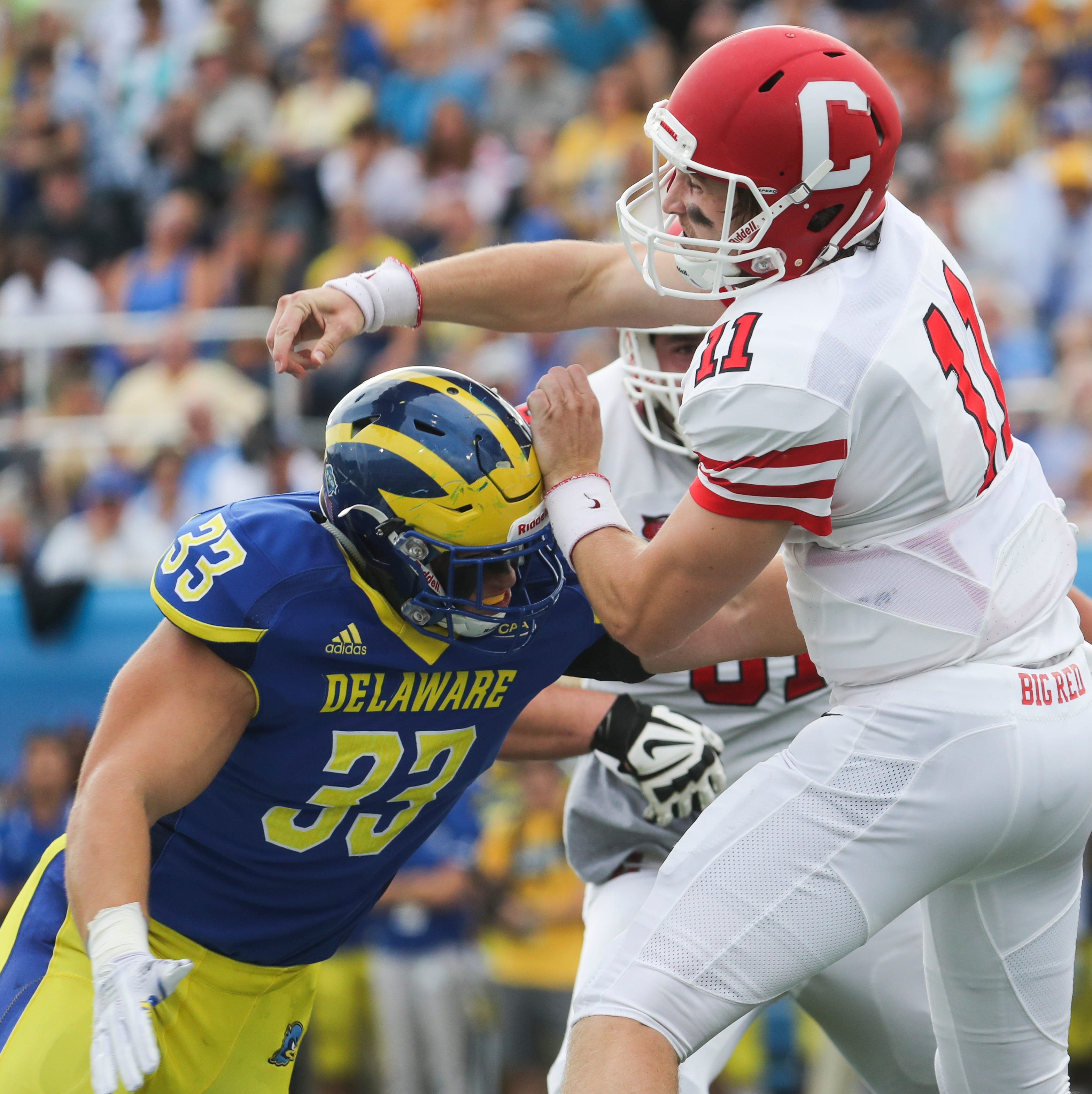 Opportunities abound as rebuilding University of Delaware starts spring football