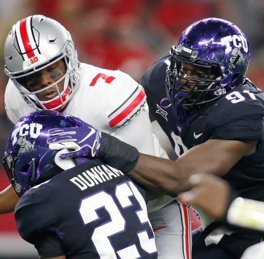 NFL Draft: TCU's L.J. Collier chosen by Seahawks in first round