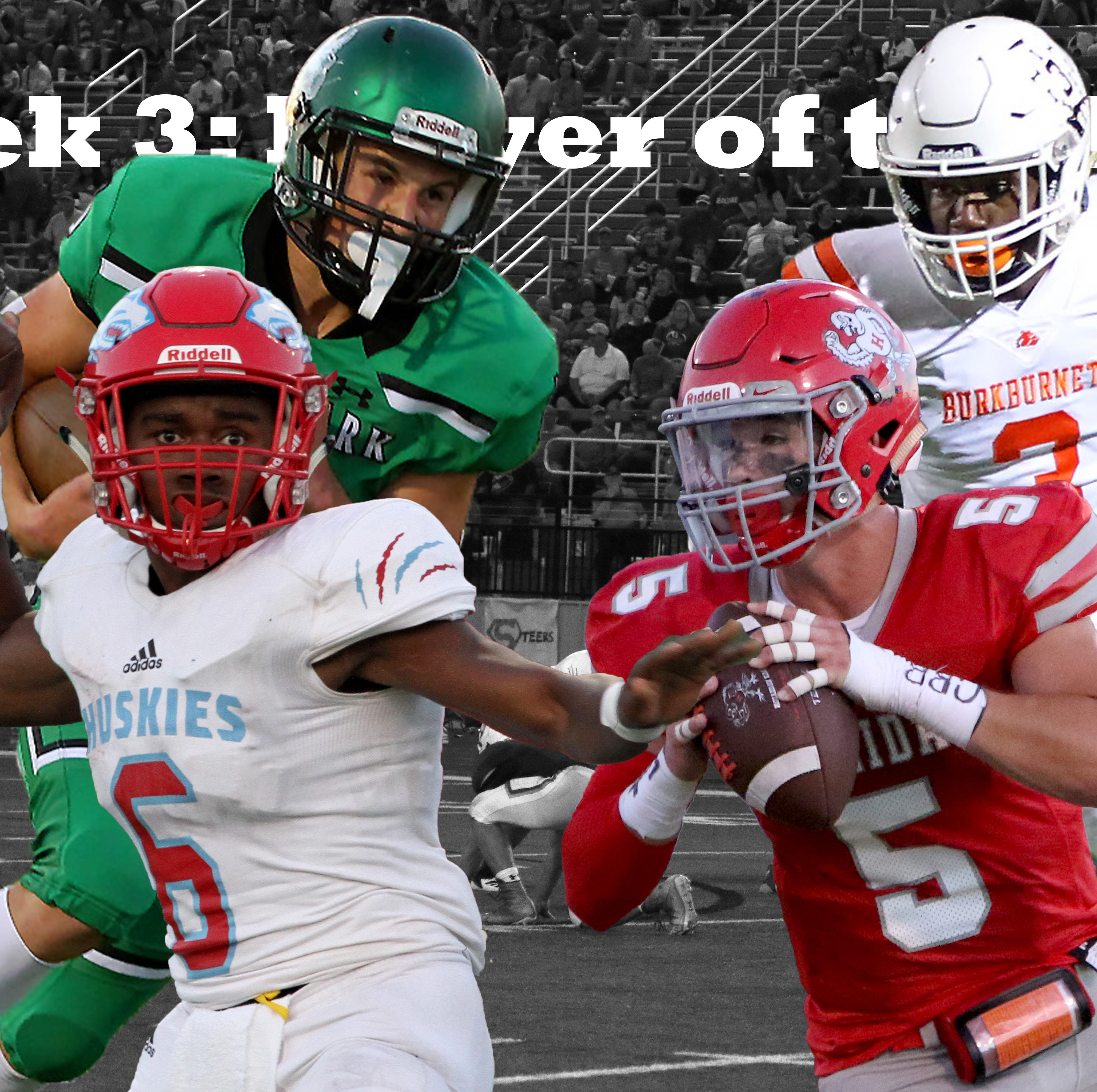Vote for Week 3 TRN Player of the Week