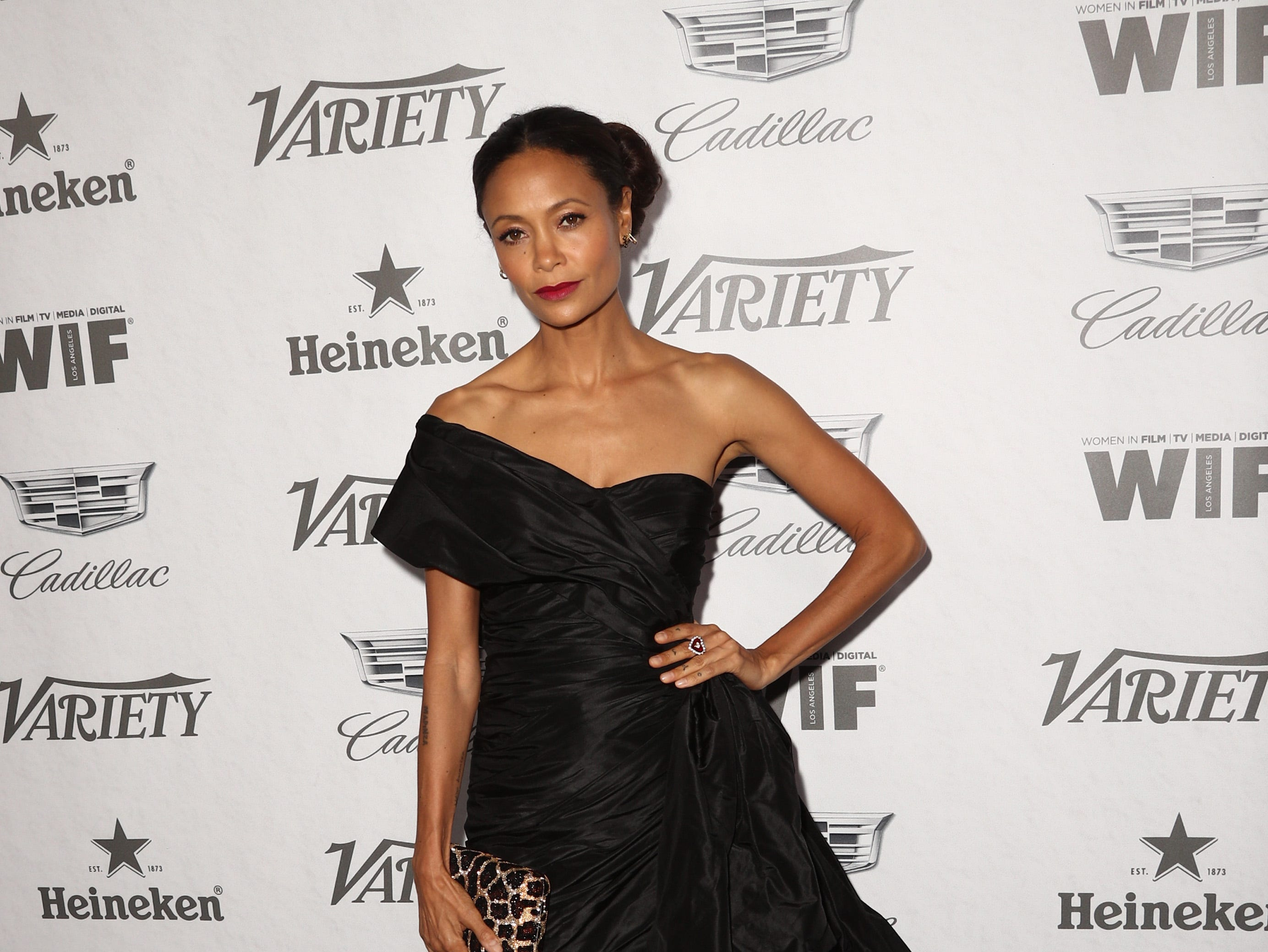 WEST HOLLYWOOD, CA - SEPTEMBER 15:  Thandie Newton attends Variety and Women in Film's 2018 Pre-Emmy Celebration at Cecconi's on September 15, 2018 in West Hollywood, California.  (Photo by Frederick M. Brown/Getty Images) ORG XMIT: 775218358 ORIG FILE ID: 1033997416
