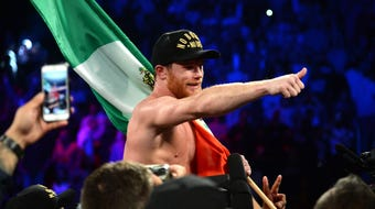 Canelo Alvarez sat down with USA TODAY Sports to discuss his willingness to once again face off with Floyd Mayweather Jr.