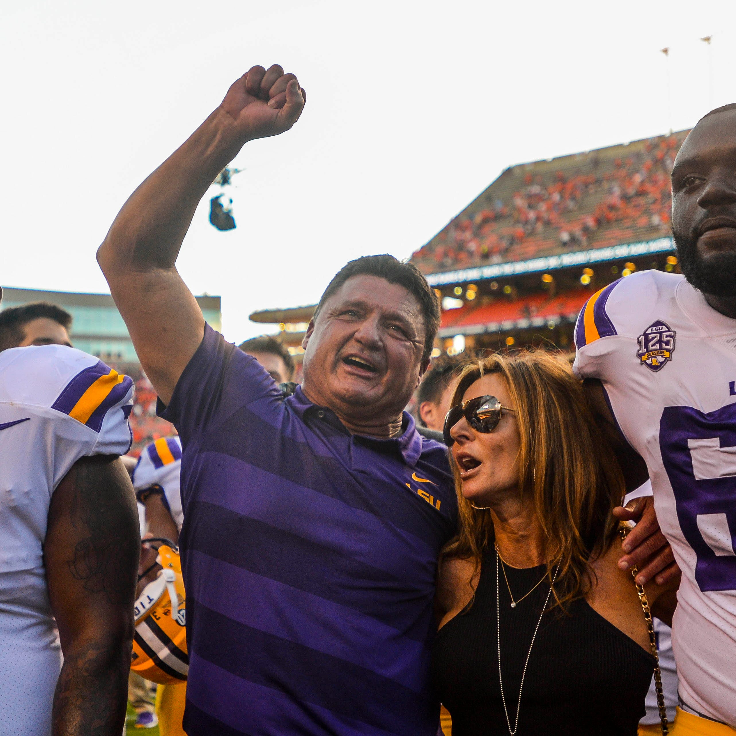 LSU's win at Auburn enhances recruiting; more charges vs. former LSU receiver Drake Davis