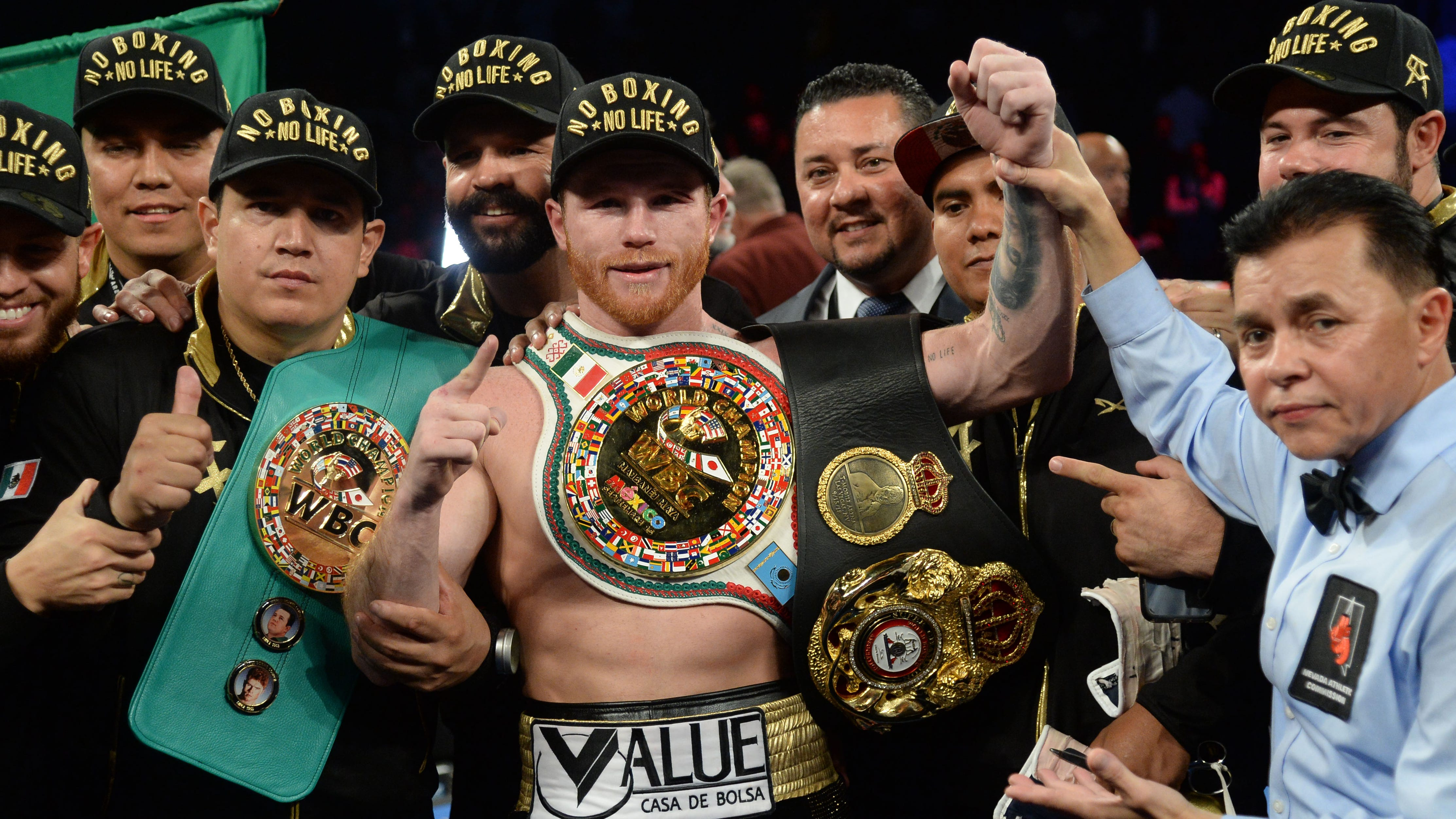 Aggressive Canelo Alvarez wins majority decision over Gennady Golovkin in intense rematch thumbnail