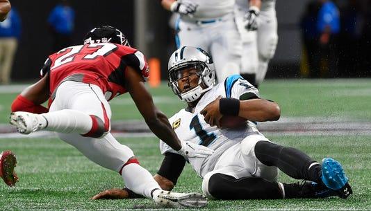 Ap Panthers Falcons Football S Fbn Usa Ga