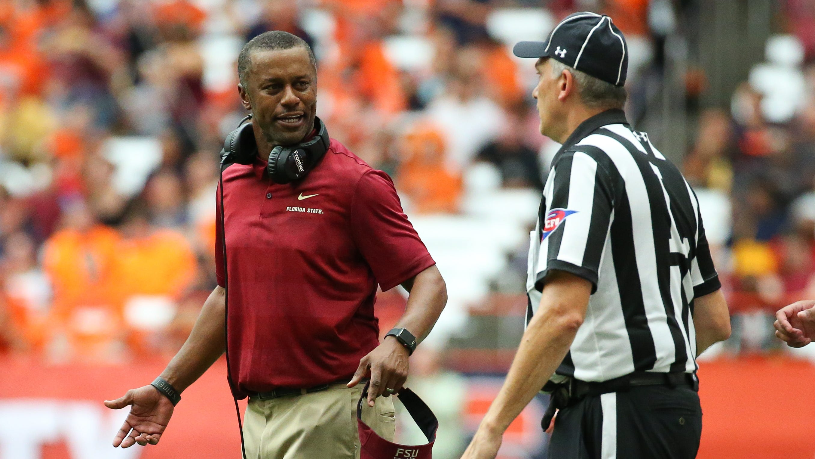 """Several GoFundMe accounts have been created to """"buy out"""" Florida State Coach Willie Taggart"""