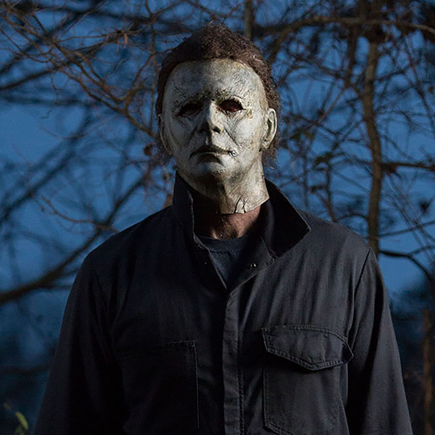 "Horror icon Michael Myers returns yet again in the new ""Halloween."""