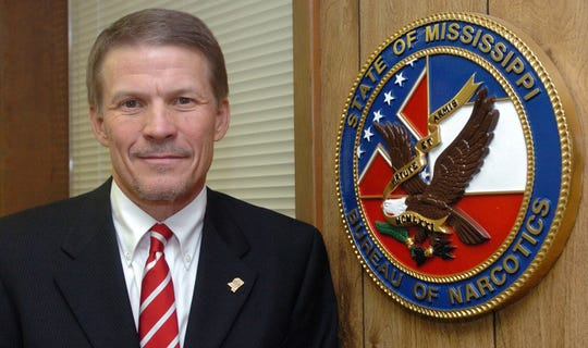Mississippi's Public Safety Commissioner Marshall Fisher, shown in a file photo here, says the state's Highway Patrol troopers will no longer be allowed to purchase Nike products.