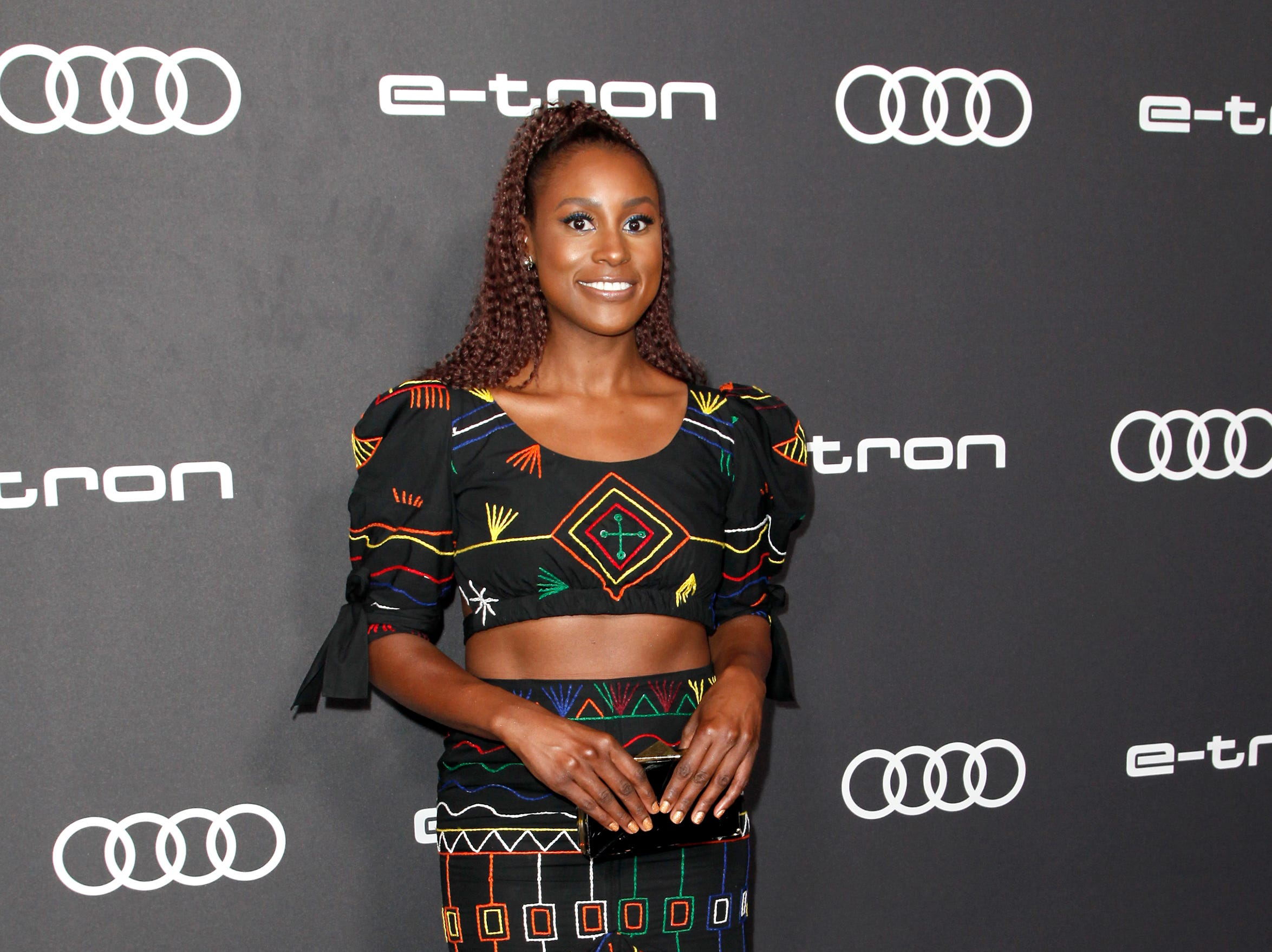 WEST HOLLYWOOD, CA - SEPTEMBER 14:  Issa Rae attends the Audi pre-Emmy celebration at Kimpton La Peer Hotel on September 14, 2018 in West Hollywood, California.  (Photo by Tibrina Hobson/FilmMagic) ORG XMIT: 775221565 ORIG FILE ID: 1033432400