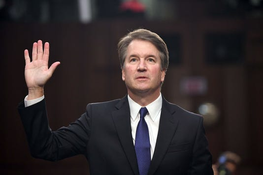 Brett Kavanaugh opposed by plurality of voters