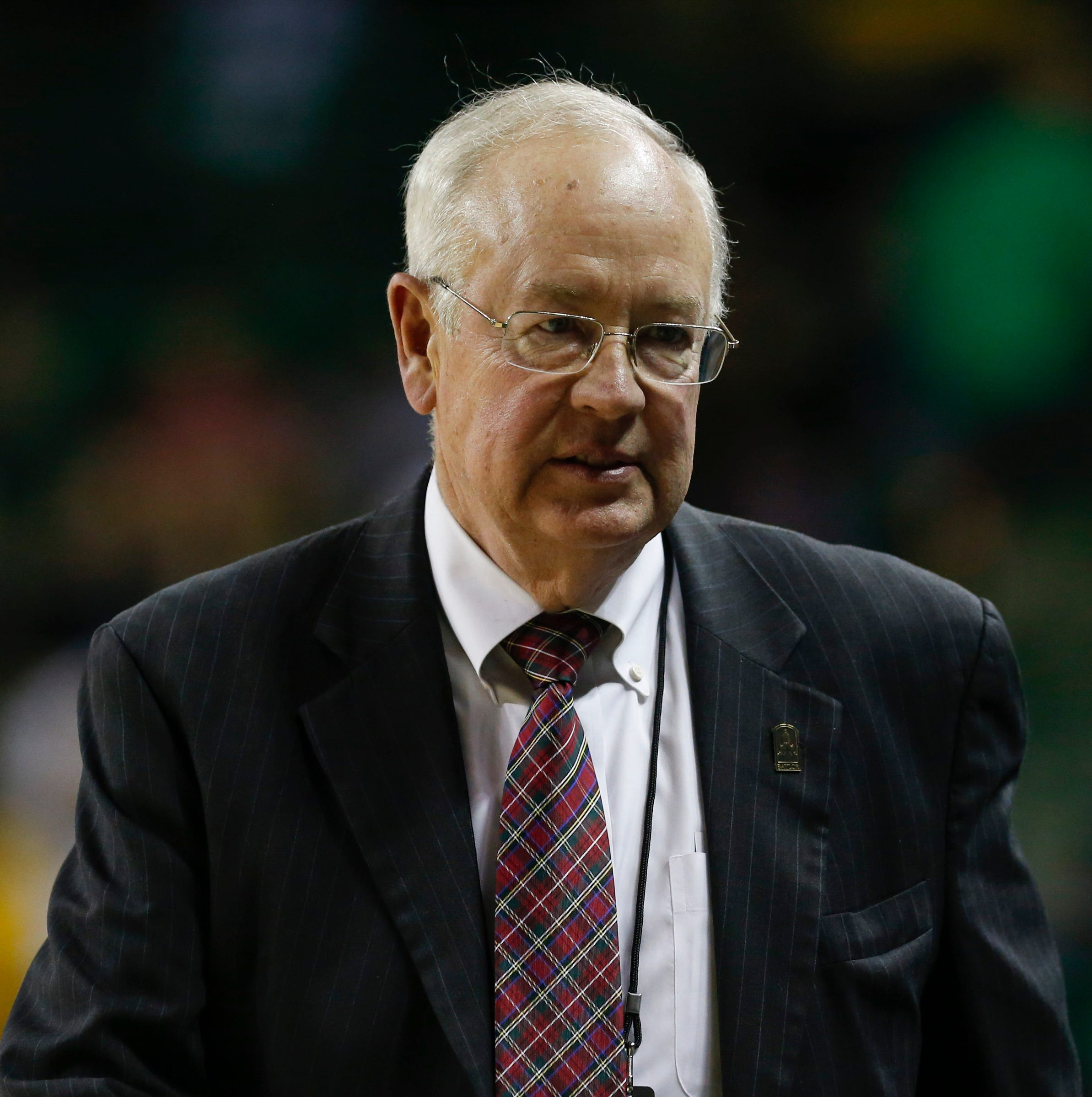 Former judge Ken Starr at Baylor University's Ferrell Center in Waco, Texas, on Dec 9, 2014.