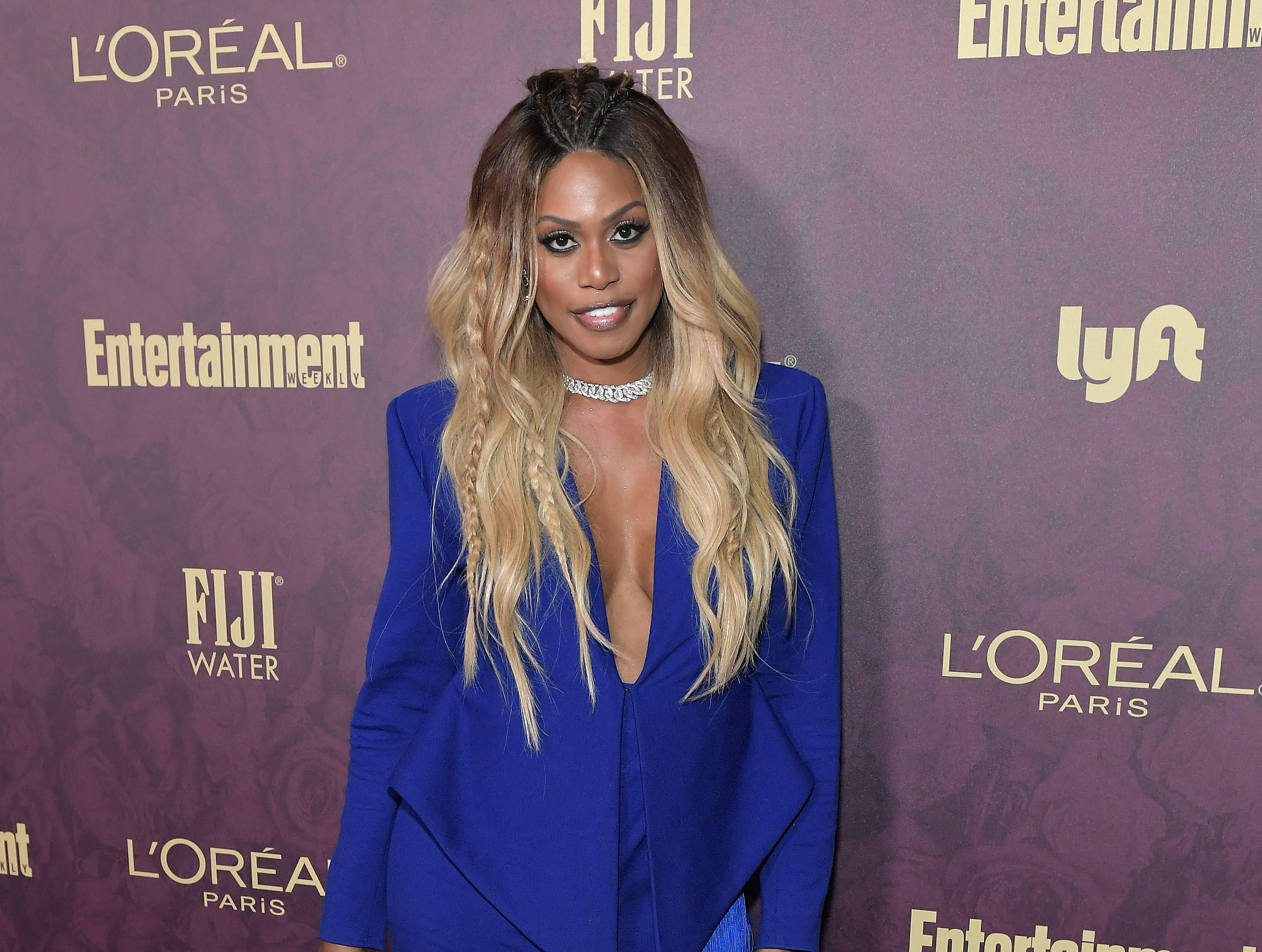 LOS ANGELES, CA - SEPTEMBER 15:  Laverne Cox attends the 2018 Pre-Emmy Party hosted by Entertainment Weekly and L'Oreal Paris at Sunset Tower on September 15, 2018 in Los Angeles, California.  (Photo by Neilson Barnard/Getty Images for Entertainment Weekly) ORG XMIT: 775214113 ORIG FILE ID: 1033990552