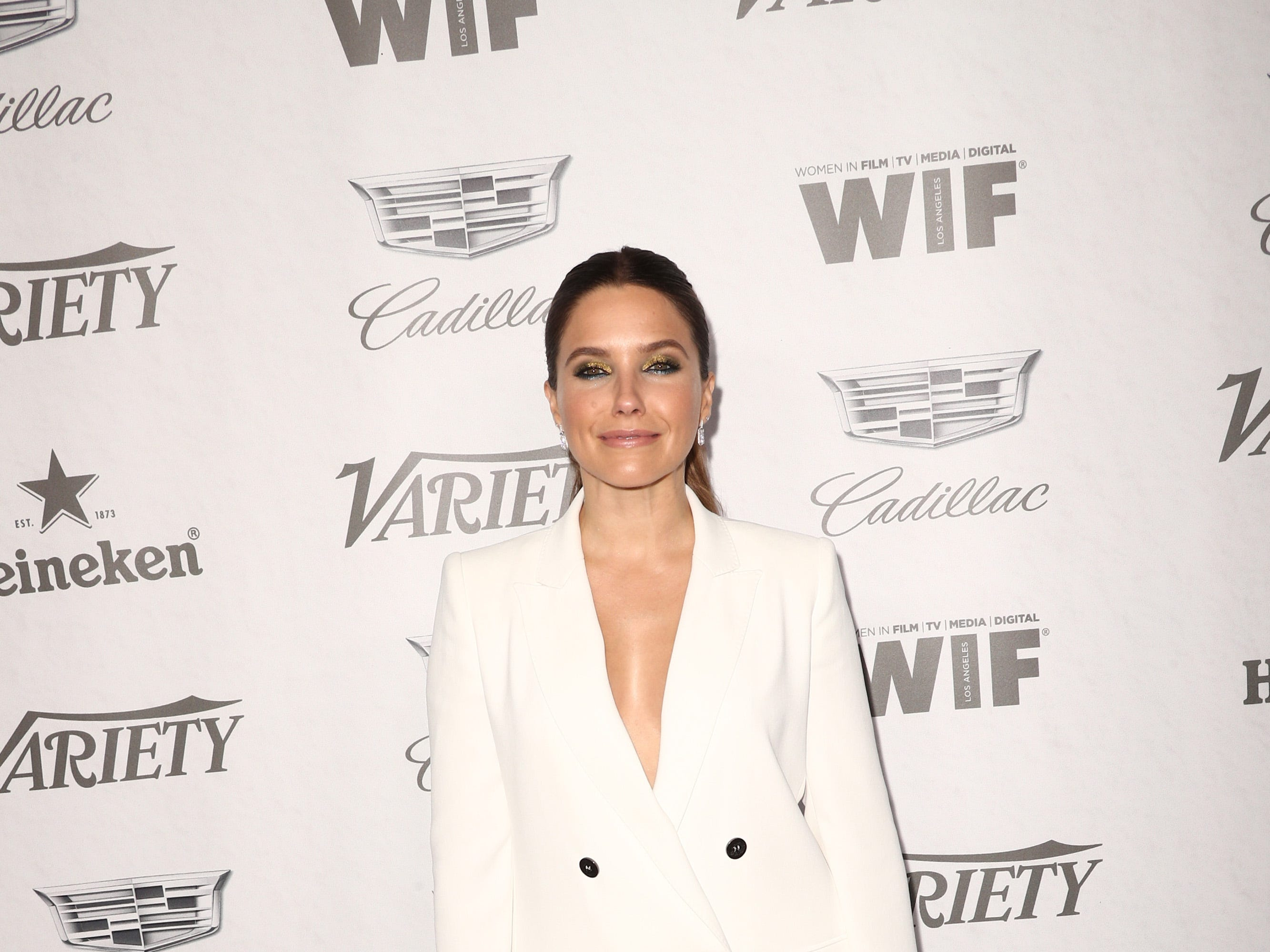 WEST HOLLYWOOD, CA - SEPTEMBER 15:  Sophia Bush attends Variety and Women in Film's 2018 Pre-Emmy Celebration at Cecconi's on September 15, 2018 in West Hollywood, California.  (Photo by Frederick M. Brown/Getty Images) ORG XMIT: 775218358 ORIG FILE ID: 1033997620