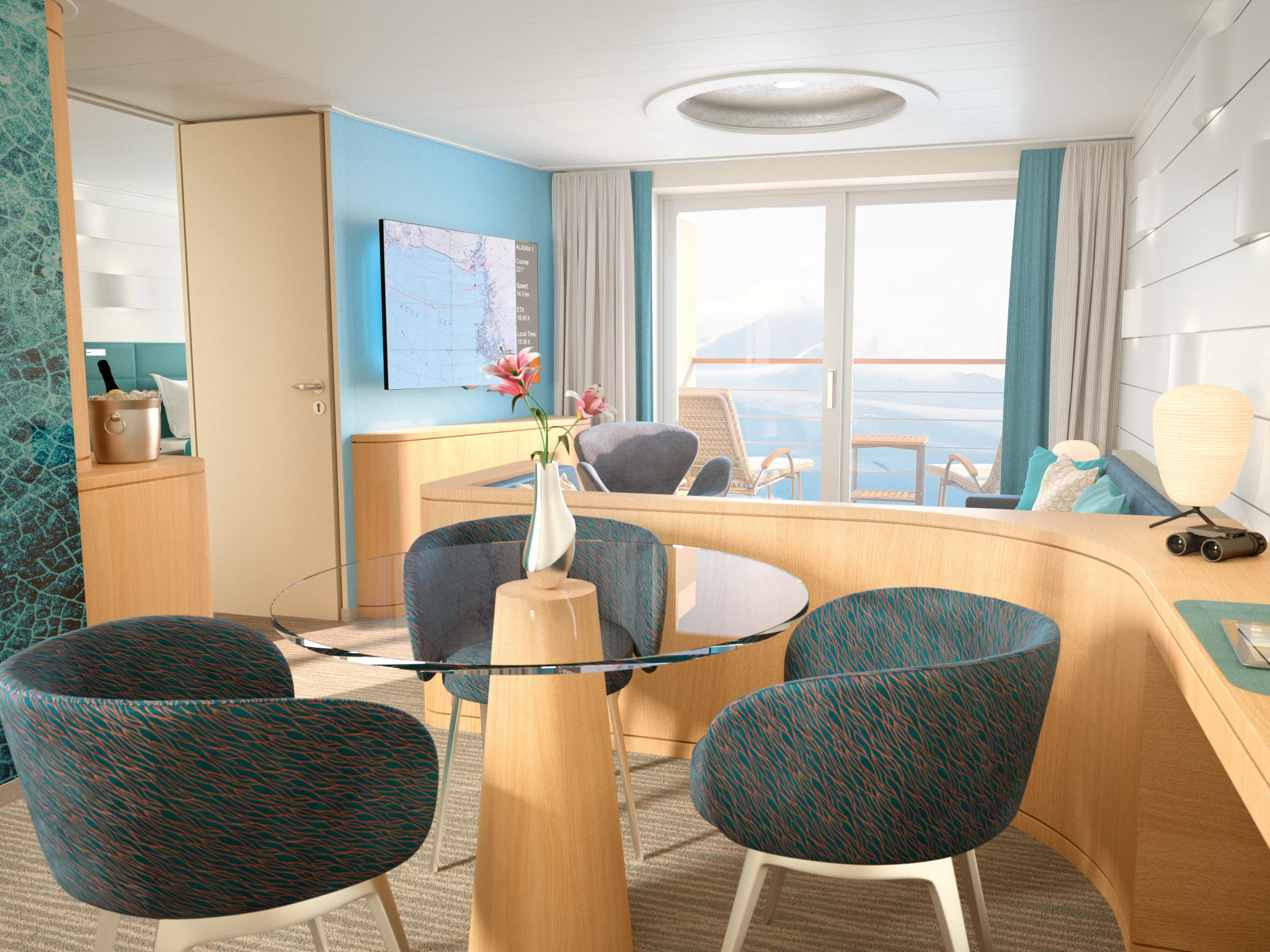 Germany-based luxury line Hapag-Lloyd Cruises is targeting English speakers with a luxurious new expedition ship called HANSEATIC inspiration. Debuting in late 2019, it'll sail to off-the-beaten-path destinations such as the Arctic, Antarctica and the Amazon River.