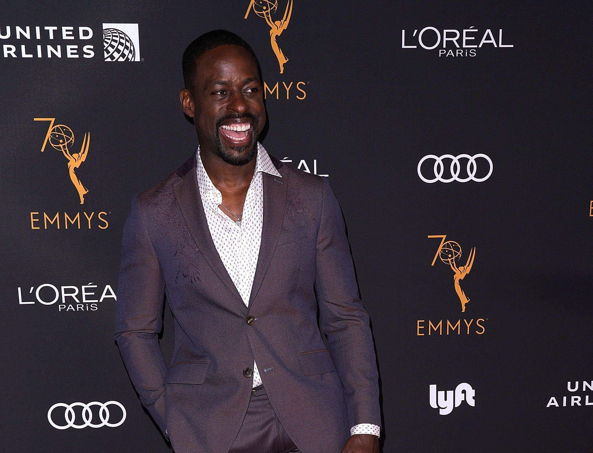 BEVERLY HILLS, CA - SEPTEMBER 15:  Actor Sterling K. Brown attends the Television Academy Honors Emmy Nominated Performers at Wallis Annenberg Center for the Performing Arts on September 15, 2018 in Beverly Hills, California.  (Photo by JC Olivera/WireImage) ORG XMIT: 775226214 ORIG FILE ID: 1034008534