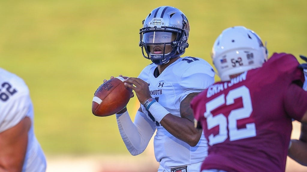 Monmouth football: Bahar, Grimes named Big South Players of the  Week
