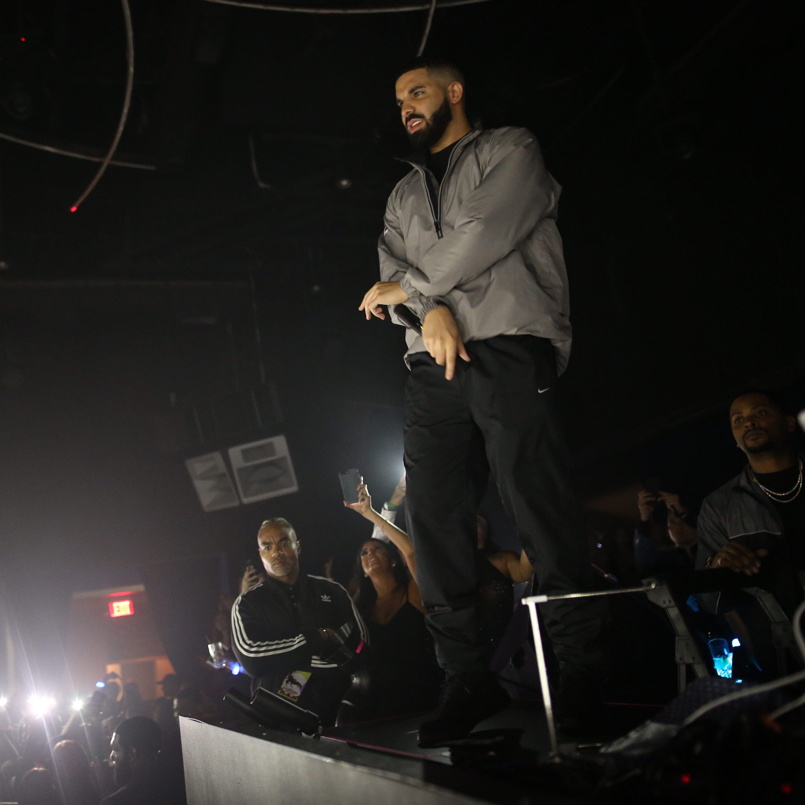 Drake performs at the Hard Rock in Atlantic City