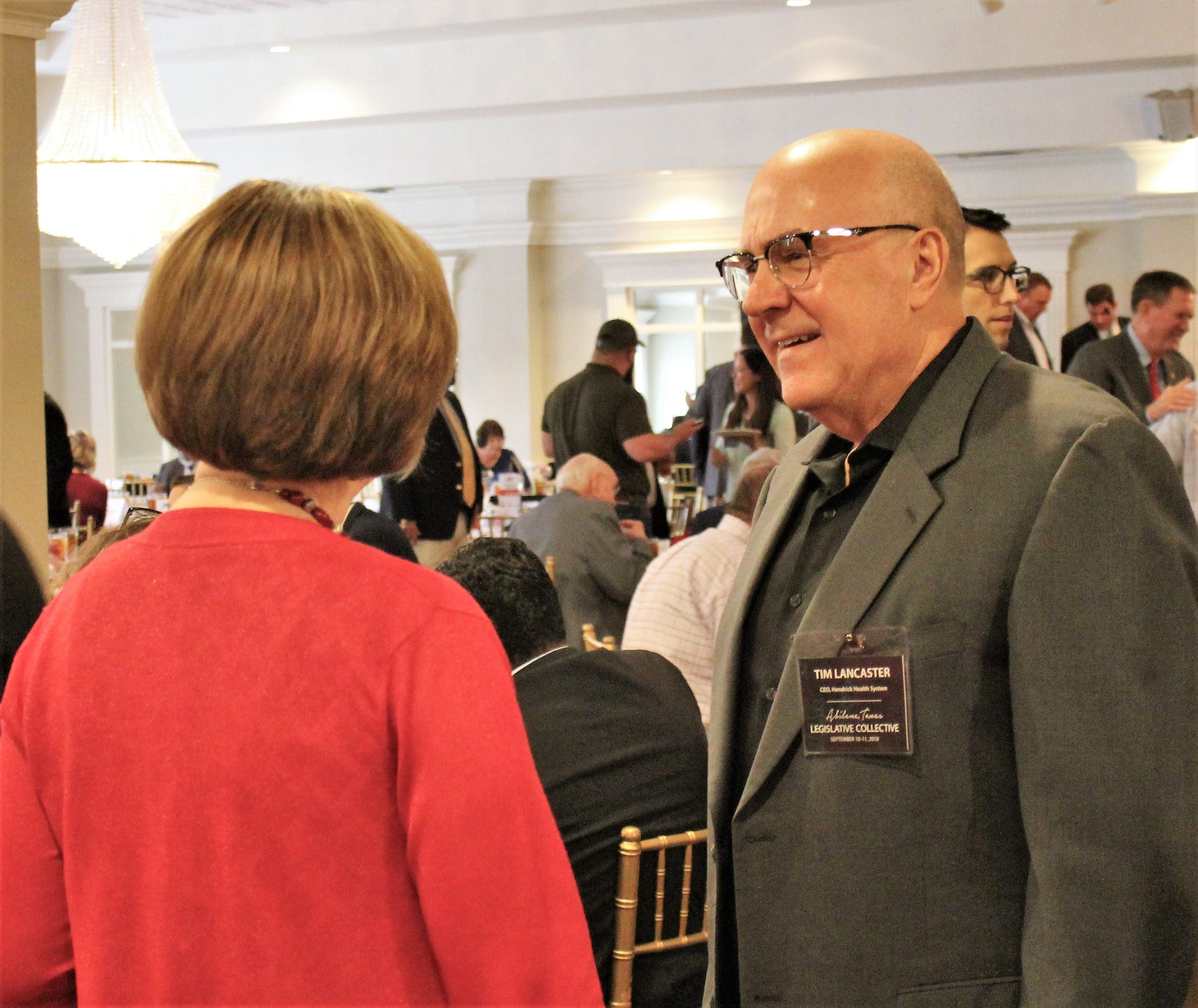 Tim Lancaster participated in the Abilene Chamber of Commerce's recent legislative summit.