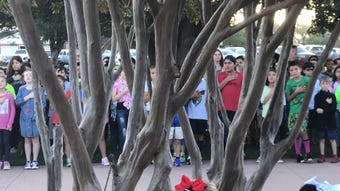 Abilene ISD elementary school students performed a ceremony Monday, Sept. 17, 2018, marking the 231st anniversary of the country's governing document