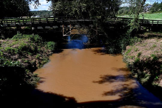 Construction for the FEI World Equestrian Games has caused the North Carolina Department of Environmental Quality to issue Tryon Equestrian Partners, LLC, multiple notices of violation for exceeding water pollution standards and allowing sediment to pollute creeks surrounding the Tryon International Equestrian Center in Polk County, including White Oak Stream.