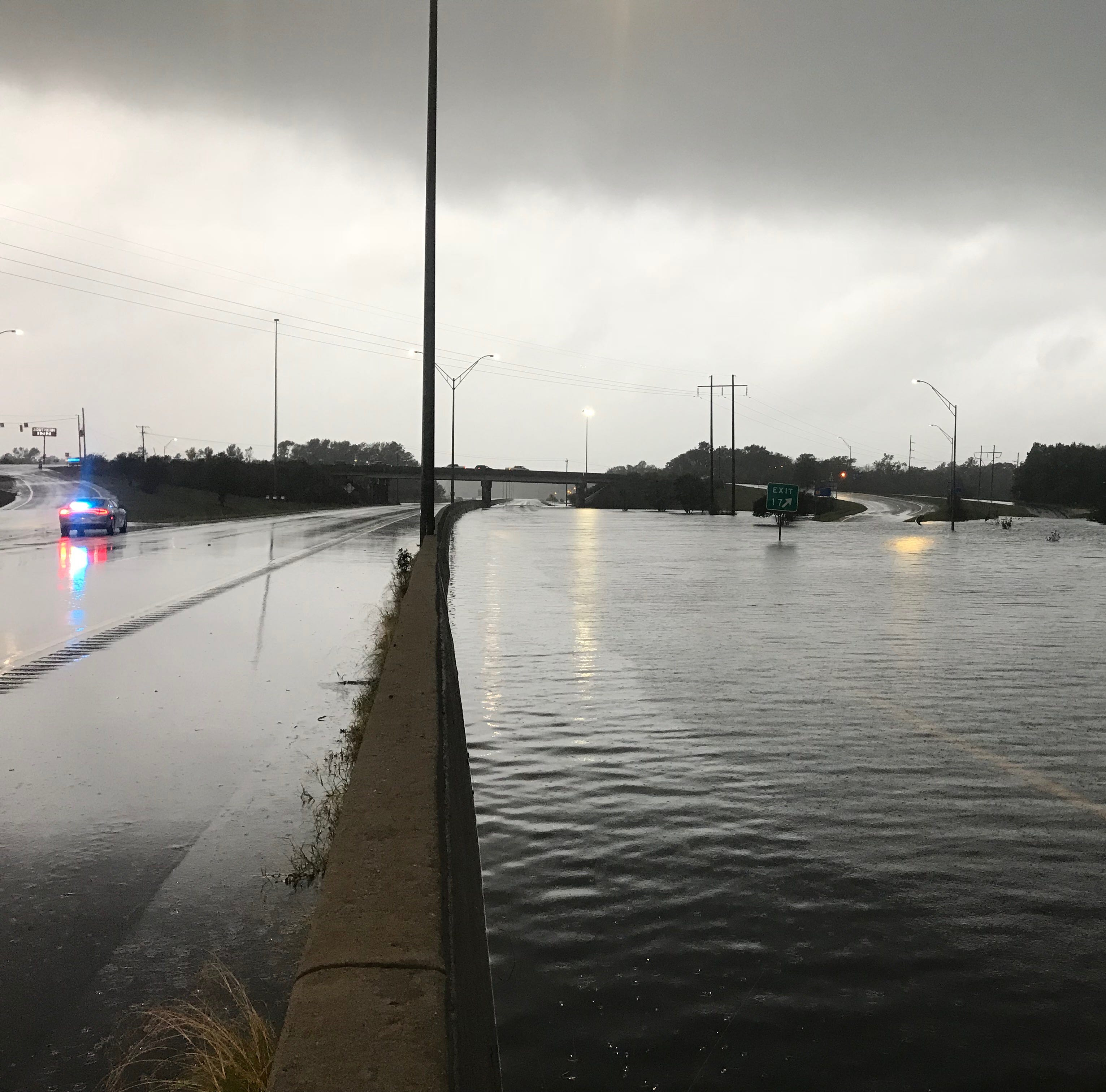 Areas of I-95, I-40, other roads still closed and flooded near Fayetteville, see NC list
