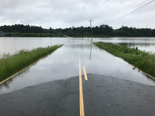 Butler Bridge Flooded
