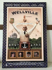 "A movie poster for the 1994 film, ""The Road to Wellville."""