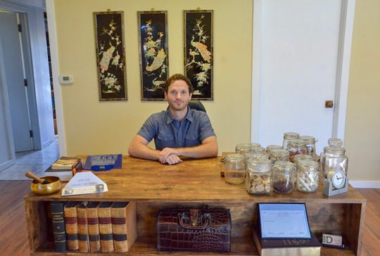 Ian Dandenault opened Alternative Roots Health, Acupuncture & Herbal Medicine in Battle Creek in January 2018.