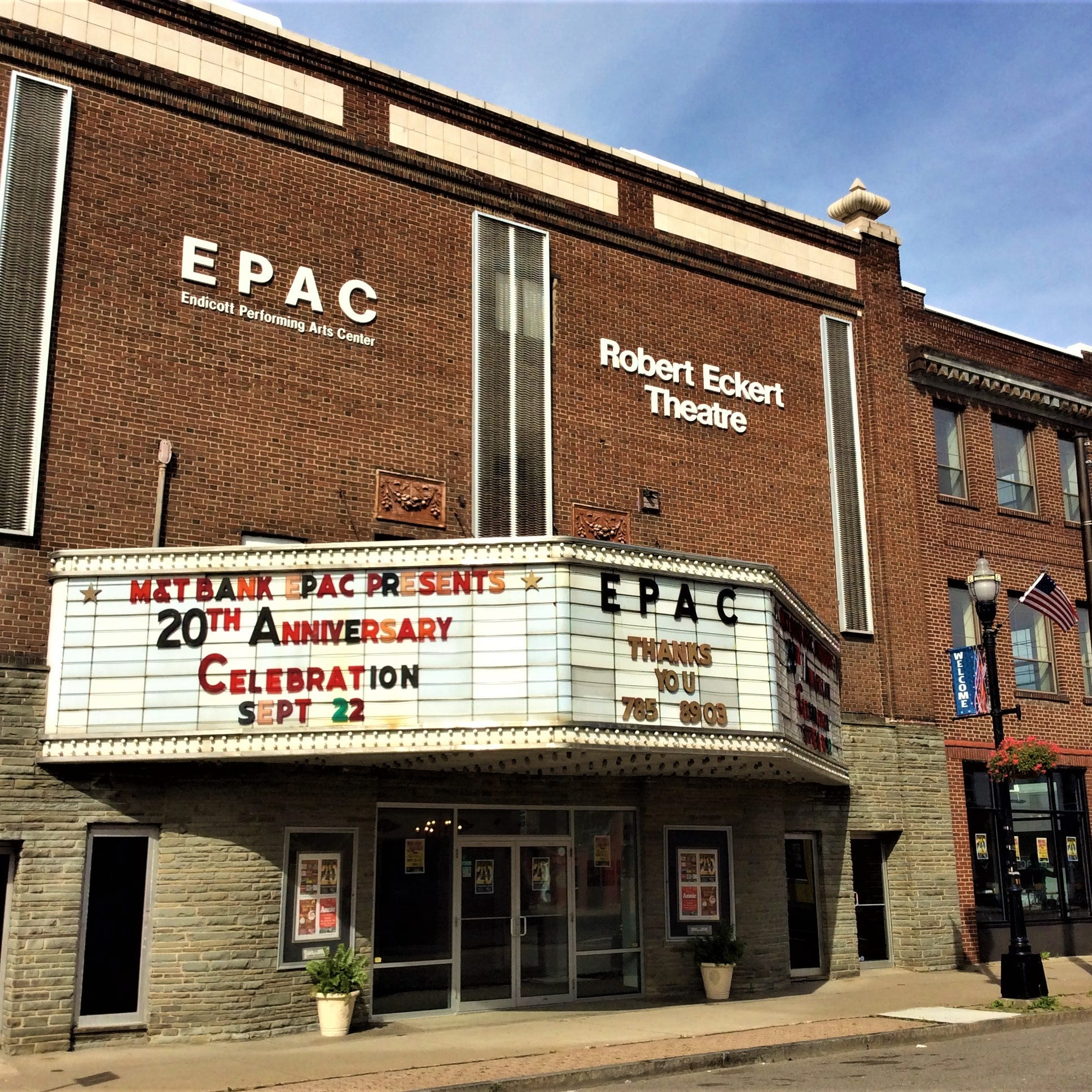 Founders look back on 20 years of Endicott Performing Arts Center