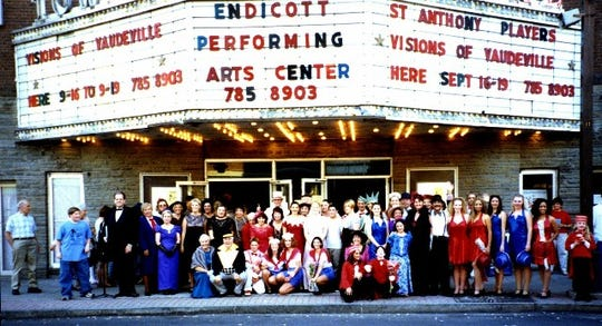 """The first production on the Endicott Performing Arts Center stage was """"Visions of Vaudeville"""" in 1999."""