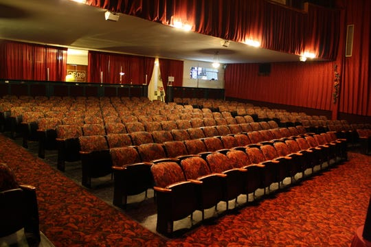 The restoration of the Endicott Performing Arts Center's 300-seat Robert Eckert Theatre took a lot of volunteer time.