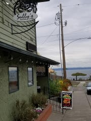 Sully's Bistro & Bar sits a stone's throw away from Port Madison Bay in Suquamish.